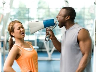 Personaltrainerwithmegaphone